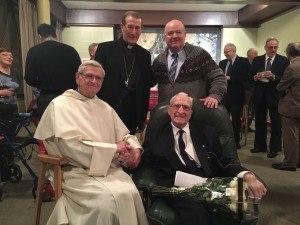Fr. John + Noncio+P. Beaubien